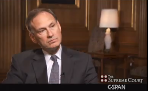 Justice Alito on interviewing for the job