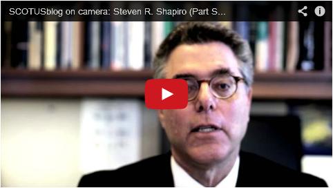Steven R. Shapiro (Part Six)