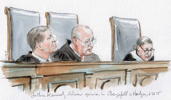 opinion analysis marriage now open to same sex couples   scotusblog justice kennedy delivers opinion in same sex marriage art lien