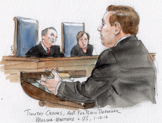 Timothy Crooks, Asst. Federal Public Defender, Houston, Texas