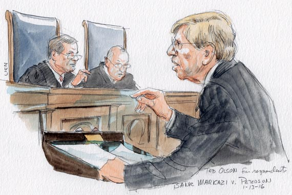 Ted Olson for respondents