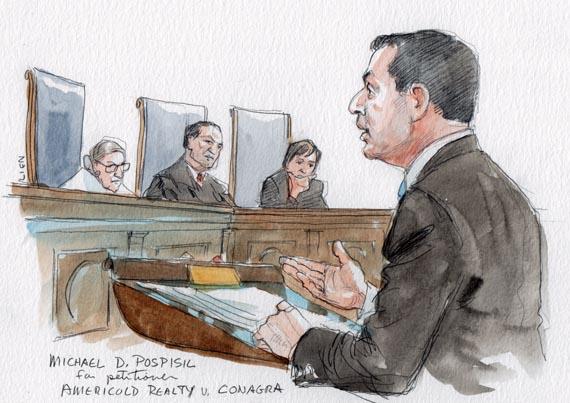 Michael D. Pospisil for petitioner (Art Lien)