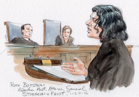 Alaska Asst. Attorney General Ruth Botstein