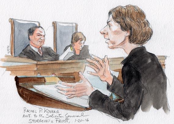 Asst. to the Solicitor General Rachel P. Kovner
