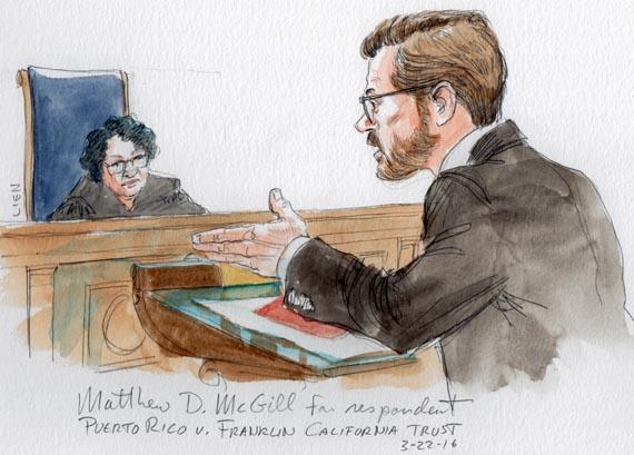 Matthew D. McGill for respondent (Art Lien)