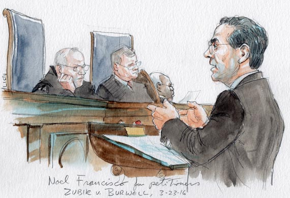 Noel Francisco for petitioners (Art Lien)