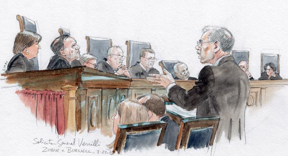 Solicitor General Donald Verrilli (Art Lien)