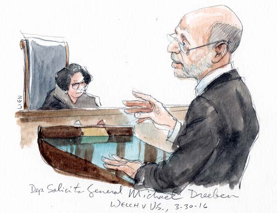 Michael R. Dreeben, Deputy Solicitor General (Art Lien)