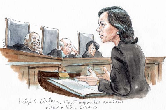 Helgi C. Walker, Court-appointed amicus
