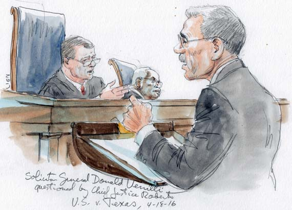 Solicitor General Donald Verrilli