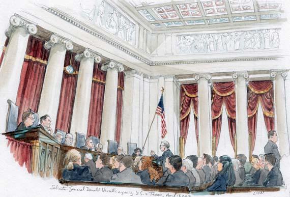 Solicitor General Donald Verrilli argues immigration case