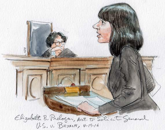Elizabeth B. Prelogar, Asst. to the Solicitor General