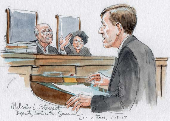 Deputy Solicitor General Malcolm L. Stewart questioned by Justice Breyer