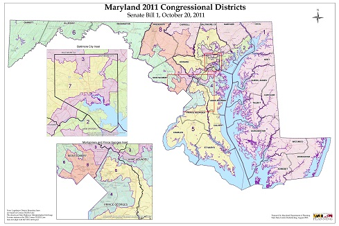 Map Of Georgia Congressional Districts 2014.Justices To Tackle Partisan Gerrymandering Again In Plain