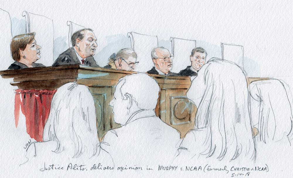 Opinion Analysis Justices Strike Down Federal Sports Gambling Law