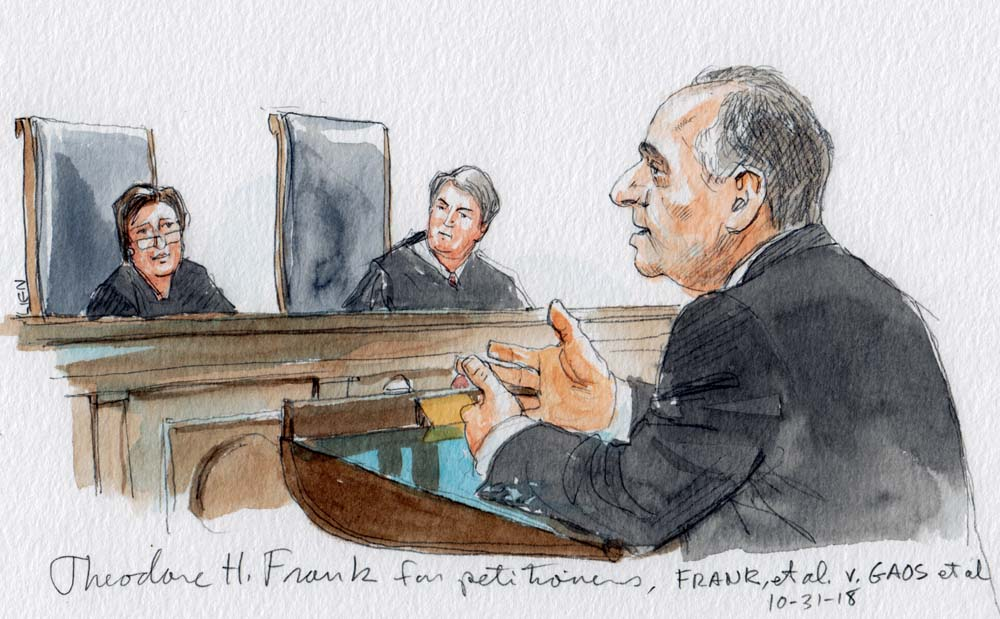 """Argument analysis: Justices skeptical of """"cy pres"""" class"""