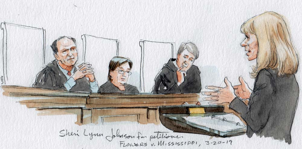 Argument analysis: Justices seem receptive to inmate's juror