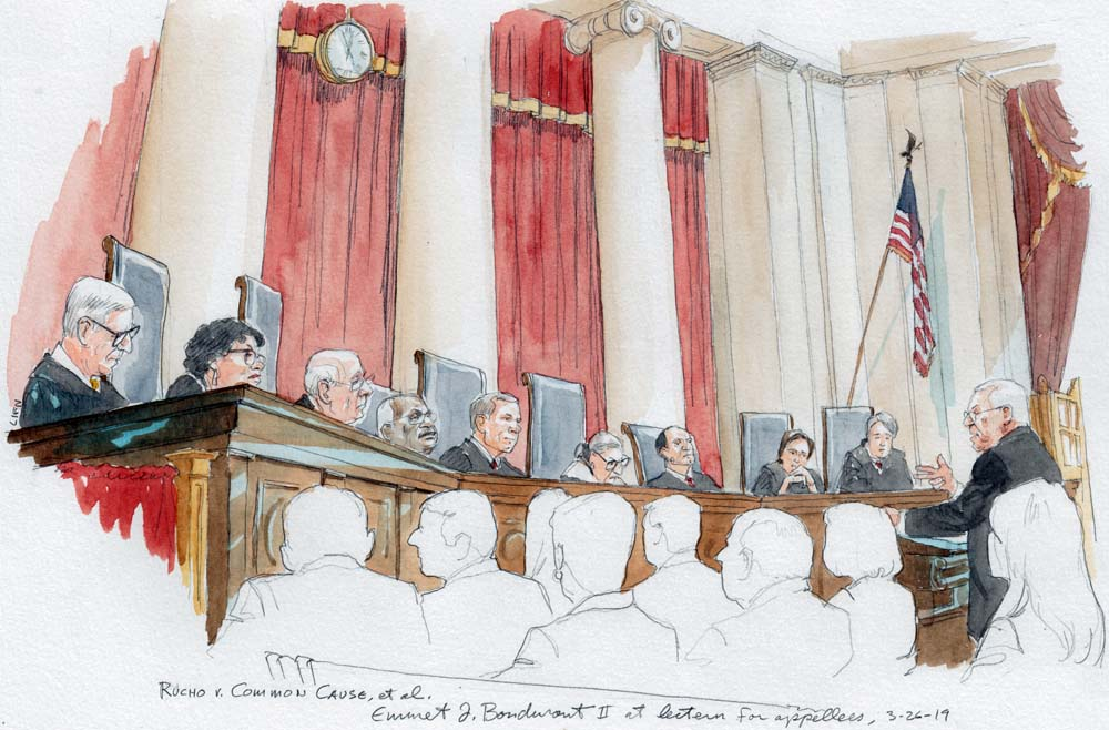 In Difficult And Divided Time New >> Argument Analysis Justices Divided And Hard To Read On Partisan