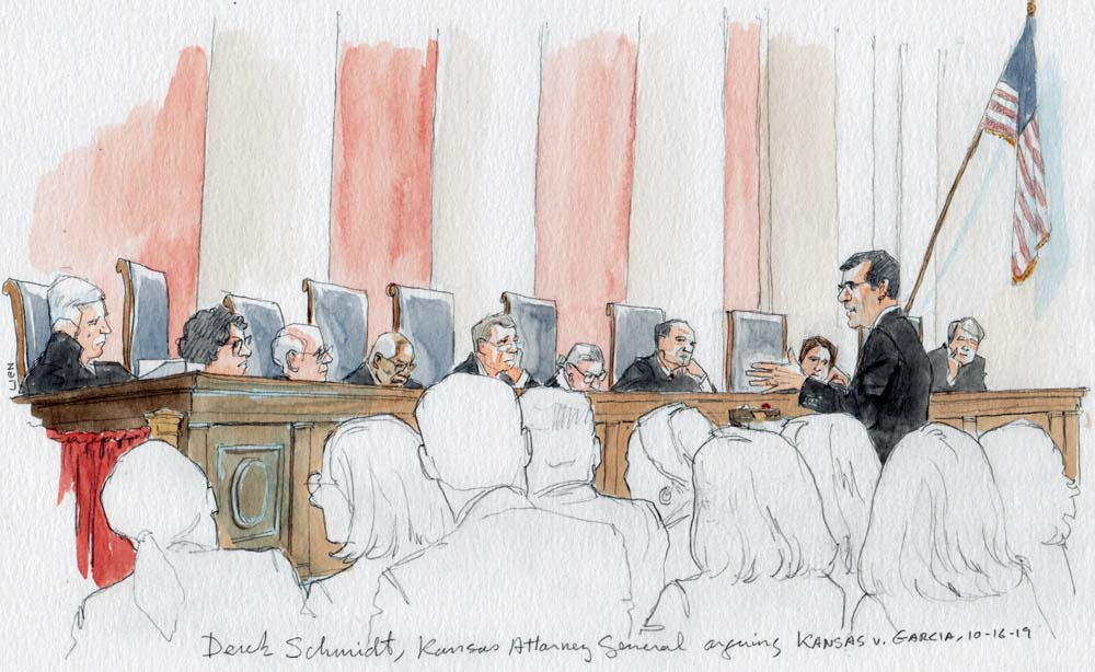 Argument analysis: Justices probe the limits of prosecutions of noncitizens under state identity-theft laws
