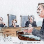 Argument analysis: Justices divided in cross-border shooting case