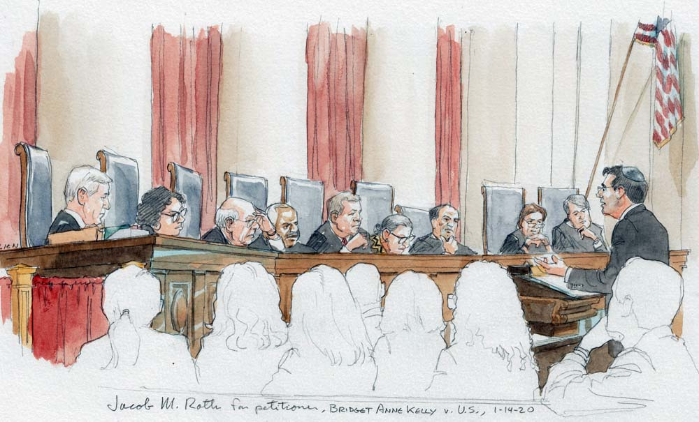 """Argument analysis: Justices tackle convictions arising from """"Bridgegate"""" scandal - SCOTUSblog"""