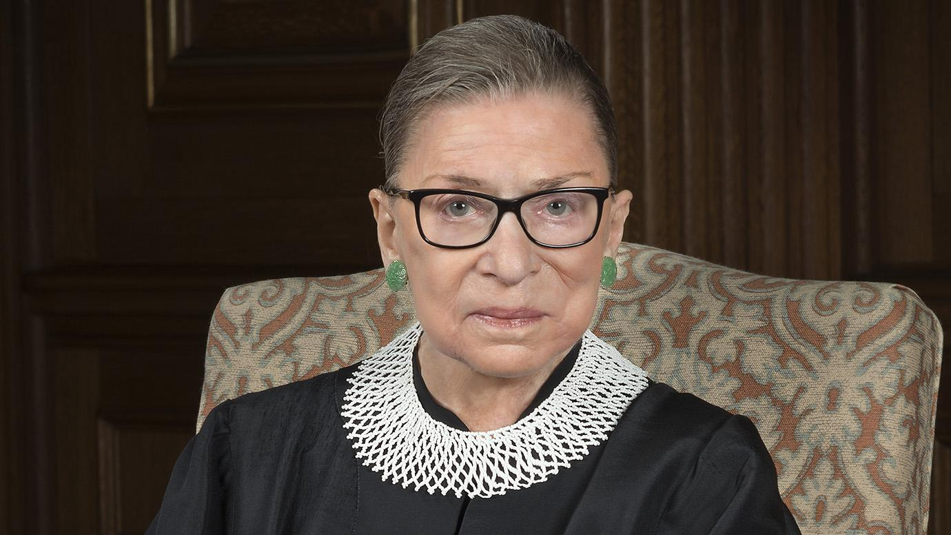 img RUTH BADER GINSBURG, American Jurist, Associate Justice of the Supreme Court of the United States